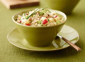 Salade de quinoa, Cheddar et pommes