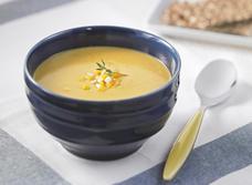 Soupe à la courge et au panais rôtis  recipe