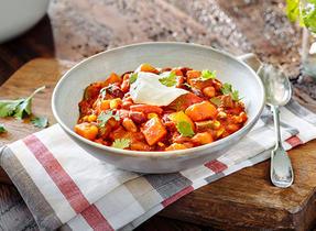 Chili rustique aux légumes