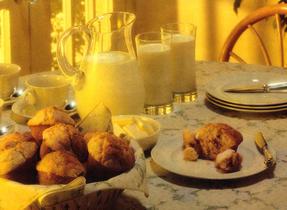 Muffins savoureux au fromage