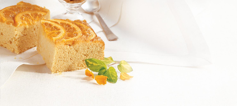 Pouding de semoule glacé à l'orange amère recette | Plaisirs ...