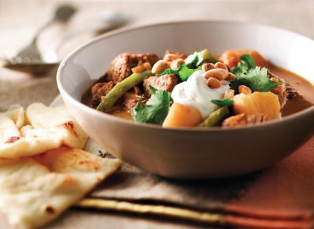 Curry au bœuf et aux pommes de terre à la mijoteuse Recette
