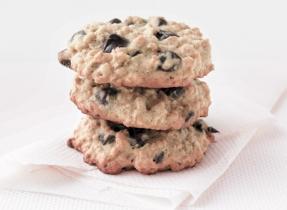 Biscuits aux brisures de chocolat tendres et moelleux