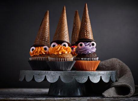 Petits gâteaux sorcières effrayantes Recette