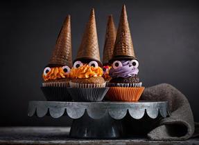 Petits gâteaux sorcières effrayantes