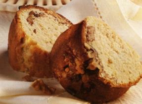 Gâteau danois à l'érable et aux noix