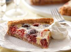 Tarte à la crème pâtissière et aux fruits estivaux recipe