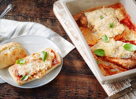 Poulet parmigiana super facile Recette