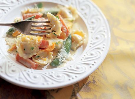 Tortellini extra rapide aux légumes  Recette
