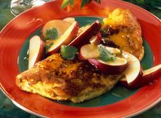 Omelette sucrée aux pommes recipe
