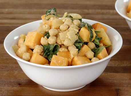 Cari de patates douces Recette