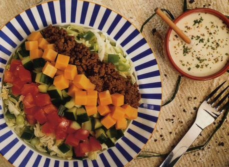Bols de salade Taco Recette