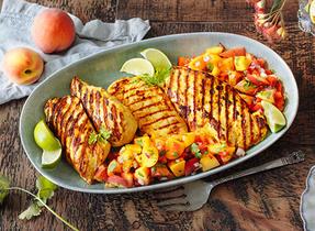 Savoureux poulet tandoori grillé nouveau genre