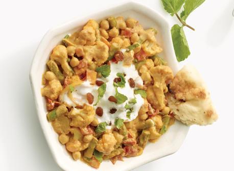 Channa Masala aux légumes Recette