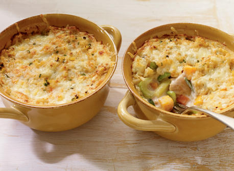 Poulet Aux Legumes Et Au Cheddar En Cocotte Recette Plaisirs Laitiers
