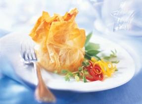 Baluchons de Brie aux tomates séchées