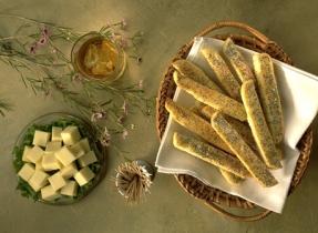 Bâtonnets au Parmesan