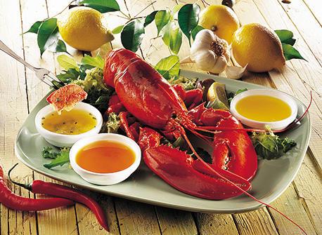 Beurres trempettes pour «Festival de homards» Recette
