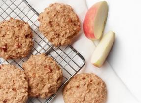 Biscuits aux pommes du déjeuner