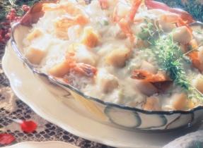 Casserole de fruits de mer au curry