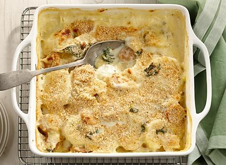 Casserole saucisse kale et pommes de terre Recette