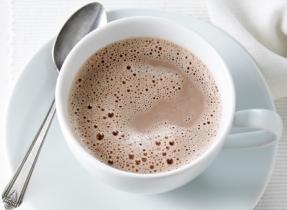 Chocolat chaud délicieusement riche
