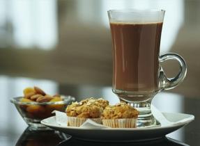 Chocolat chaud menthe et cannelle