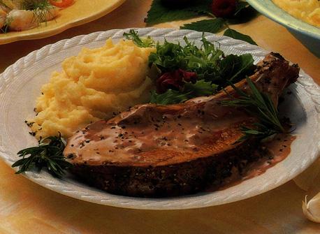 C te de b uf avec sauce au vin rouge et au romarin recette - Temps de cuisson cote de boeuf au grill ...