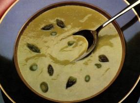 Crème d'asperges