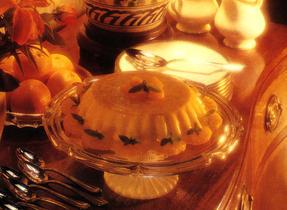 Dessert divin à l'orange