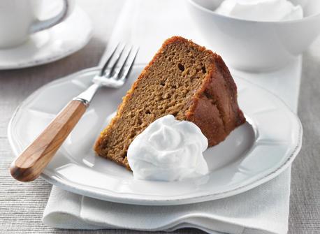 Gâteau à l'orange et à la citrouille Recette