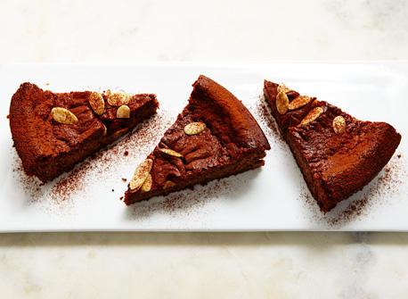 Gâteau à la Ricotta et au chocolat noir Recette