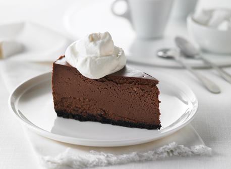 Gâteau au fromage à la truffe au chocolat et au fudge Recette