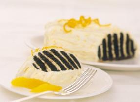 Gâteau au réfrigérateur à l'orange et au chocolat