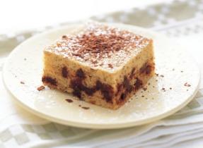 Gâteau-collation aux bananes et aux brisures de chocolat
