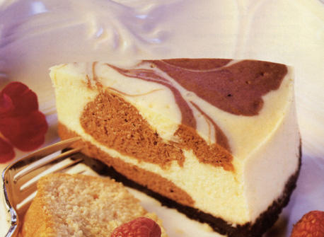 Gateau Marbre Double Chocolat Au Fromage Recette Plaisirs Laitiers