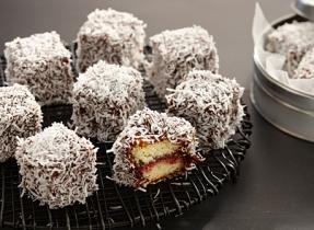 Gâteaux Lamington