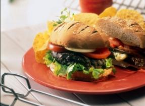 Hamburgers aux trois fromages