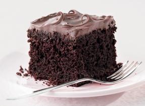 Le super gâteau au chocolat de Christine