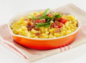 Macaroni au fromage façon BLT