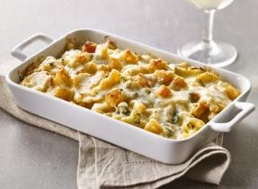 Macaroni au fromage incroyable à la morue fumée