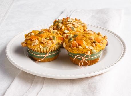 Muffins à la citrouille et au granola Recette