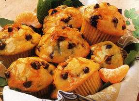 Muffins aux bananes et pépites de chocolat au lait