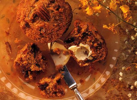 Muffins aux dattes et aux noix  Recette