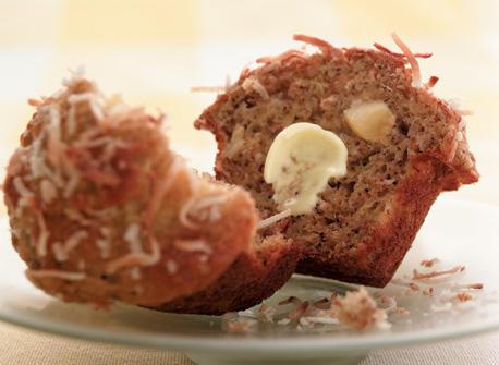 Muffins aux fruits tropicaux Recette