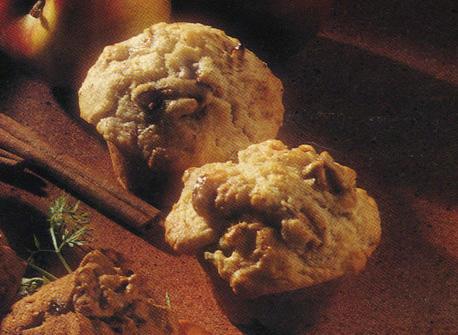 Muffins aux pommes et à la cannelle Recette