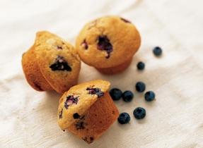 Muffins faciles aux bleuets