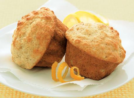 Muffins légers au citron Recette