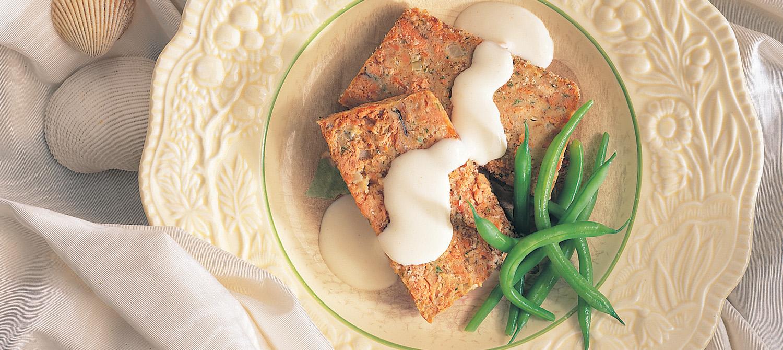 pain de saumon recette plaisirs laitiers. Black Bedroom Furniture Sets. Home Design Ideas