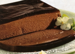 Pâté au chocolat et mousse au café